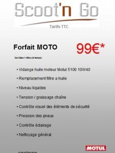 Forfait Moto