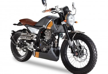 FB Mondial, renaissance d'une marque historique avec un modèle 125cc/300cc  de toute beauté. Version Abs disponible.
